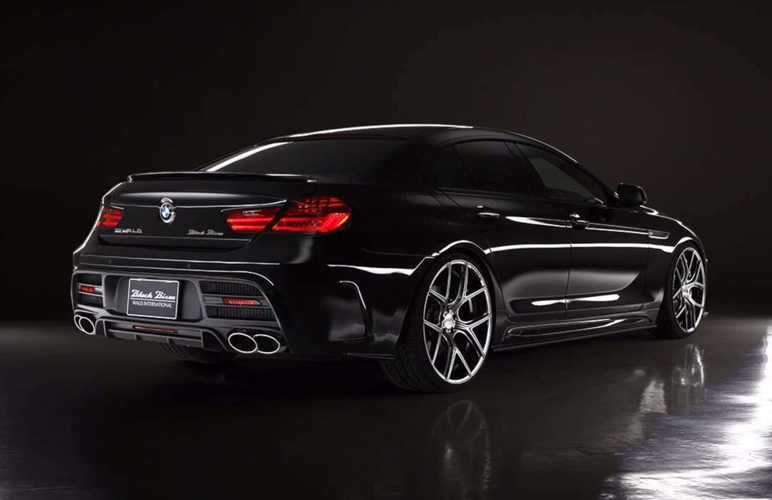 BMW 6 Series Gran Coupe Black Bison