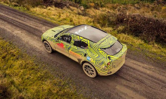 Aston Martin DBX sports crossover