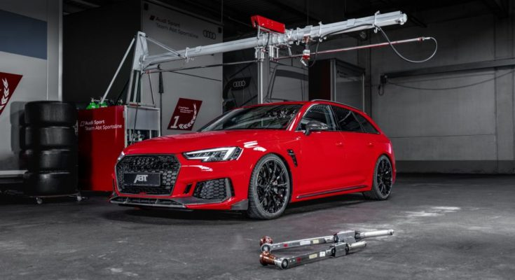 Audi RS4 Avant tuning ABT