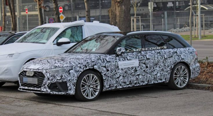 Audi S4 facelift