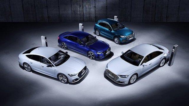 Audi plugin hybrids