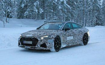 Audi tests RS7 Sportback