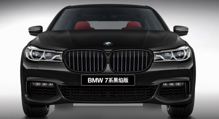 BMW 7-Series Black Fire Edition
