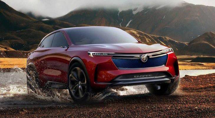 Buick prepares crossover Enspire
