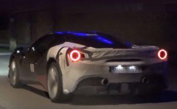 Ferrari hybrid model