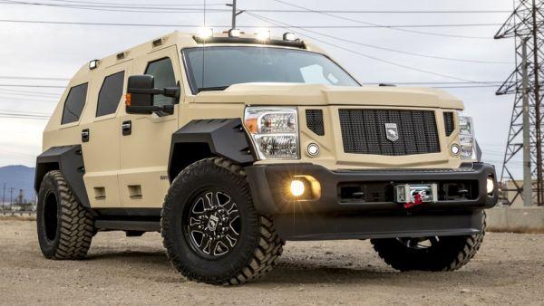 Ford Rhino GX tuning