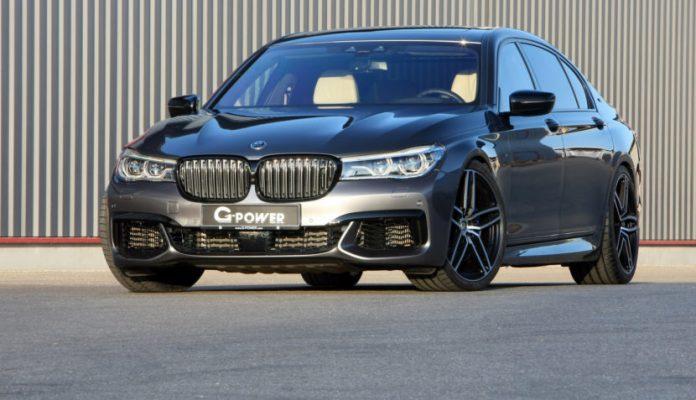 G-Power tuning of BMW M760Li