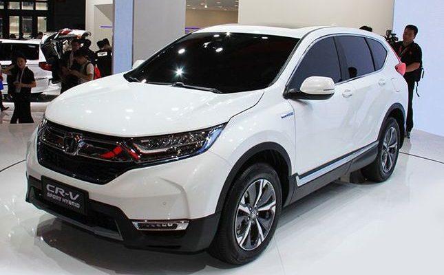 Honda CR-V sports hybrid