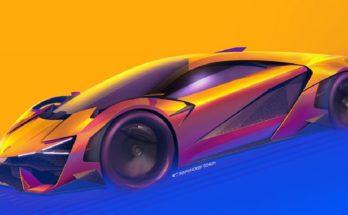 Lamborghini Trono concept