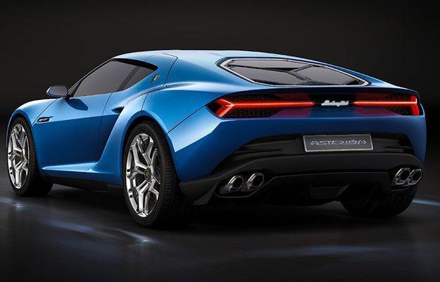 Lamborghini hybrid car