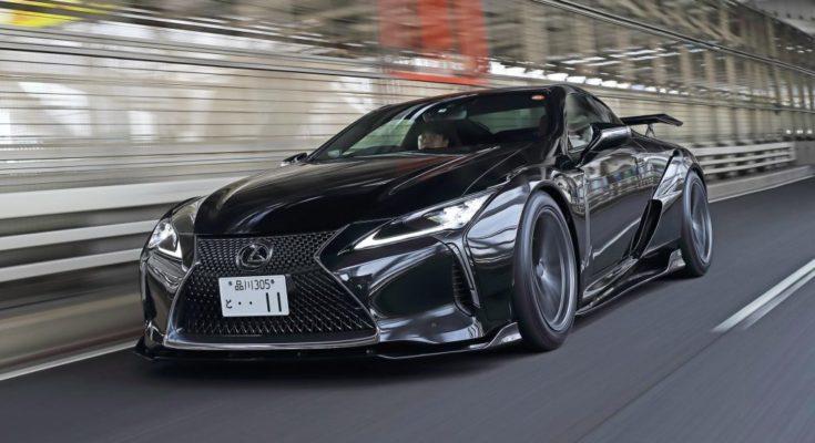 Lexus LC 500 tuning