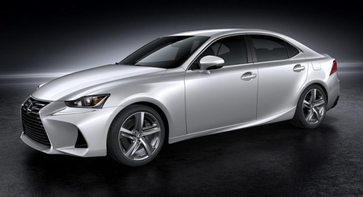 Lexus renewed IS