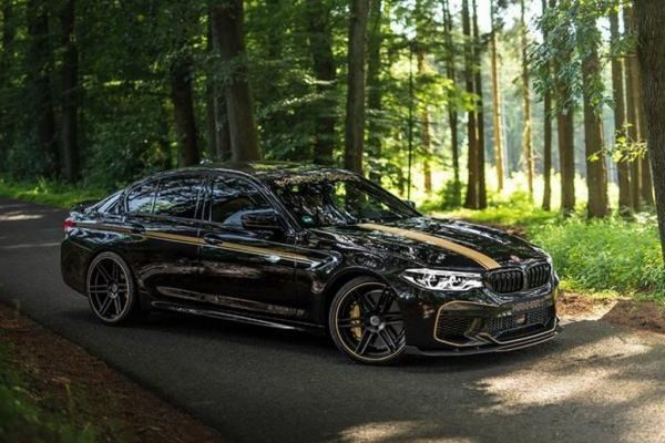 Manhart tuned BMW M5 F90