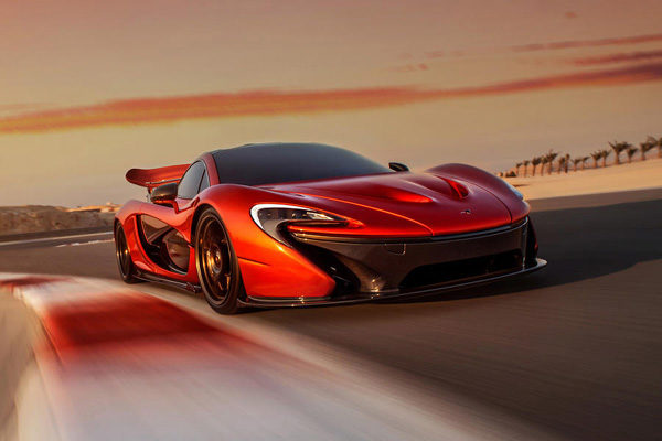 McLaren electric