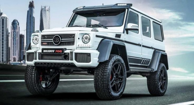 Mercedes-AMG G 63 tuning by Brabus