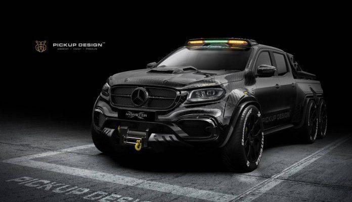 Mercedes-Benz X-Class tuning