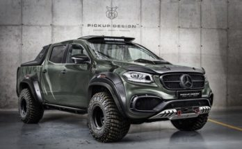 Mercedes-Benz X-Class tunning