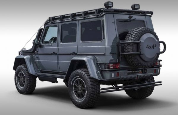 Mercedes G-Class extreme