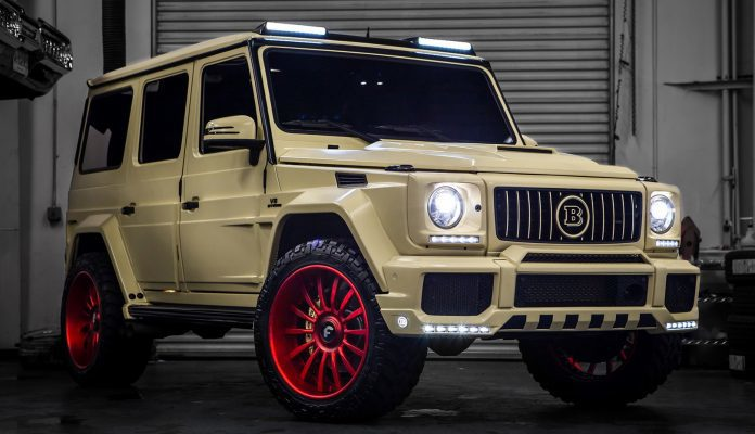 Mercedes G550 tuning
