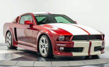 Mustang Tractorri Custom Coupe