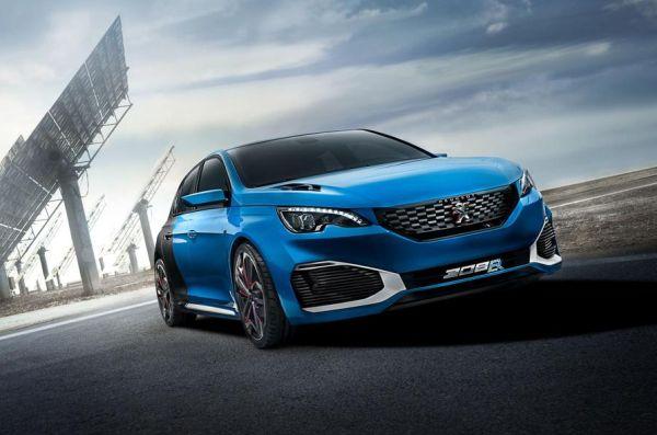 Peugeot sport cars