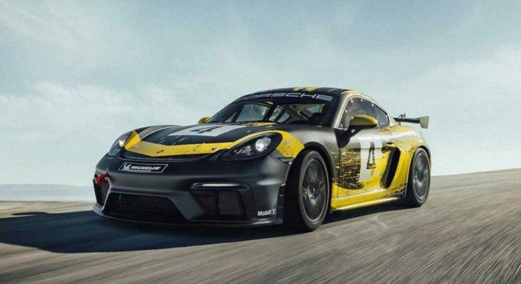 Porsche 718 GT4 Clubsport
