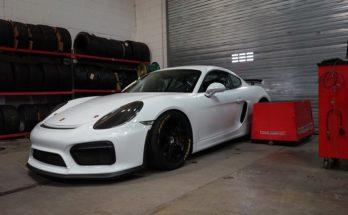 Porsche Cayman GT4 tuning