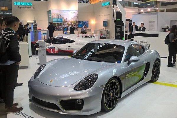 Porsche Cayman electric