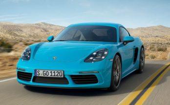 Porsche renewed Cayman coupe