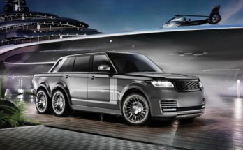 Range Rover got 6-wheel tuning