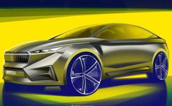 Skoda electric cross-coupe