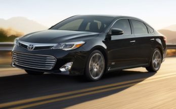 Toyota Avalon new generation