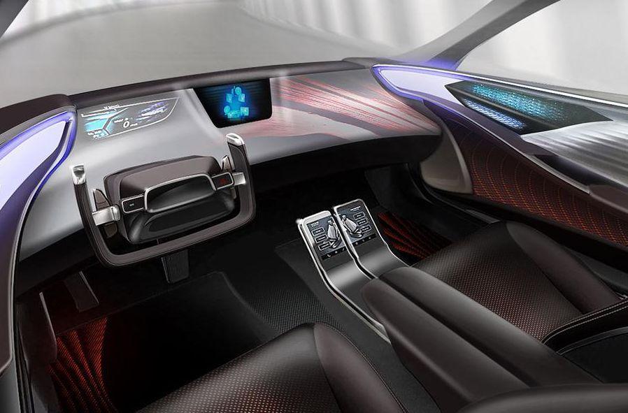 Wondrous Toyota Presented The Car Interior Of The Future Interior Design Ideas Tzicisoteloinfo