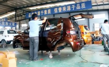 electric cars production
