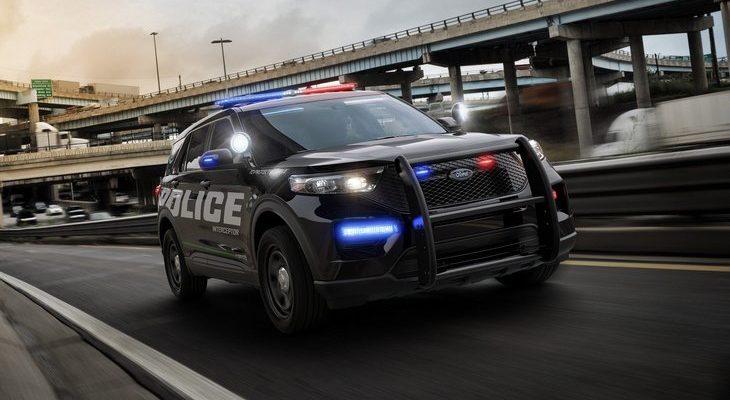 police Ford Explorer